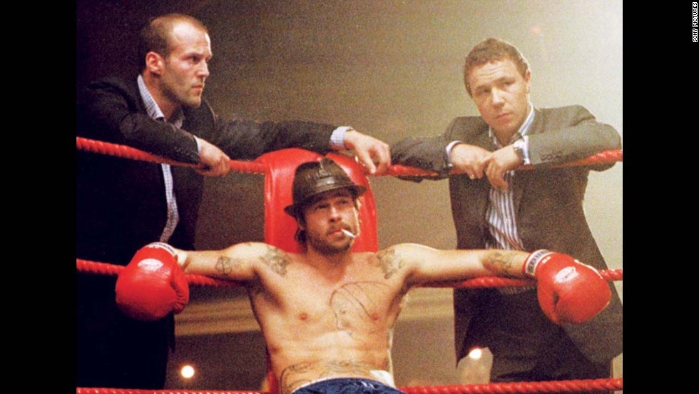 "<strong>""Snatch"" (2000)</strong>: Brad Pitt and Jason Statham star in this crime caper set in the world of boxing. <strong>(Amazon)</strong>"