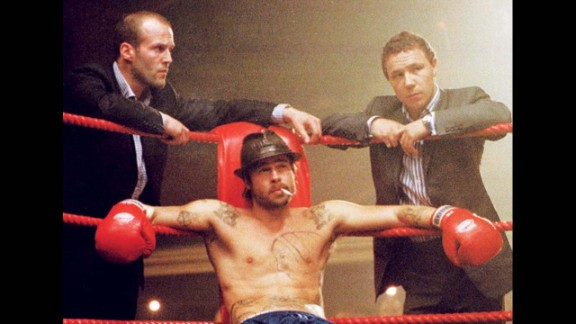 """""""Snatch"""" (2000): Brad Pitt and Jason Statham star in this crime caper set in the world of boxing. (Amazon)"""
