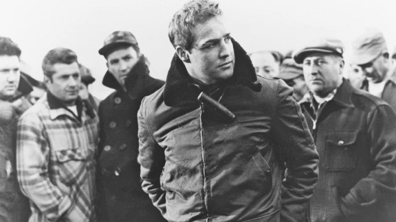 """""""On the Waterfront"""" (1954): This classic about the world of longshoremen netted eight Academy awards, including best actor for star Marlon Brando. (Amazon)"""