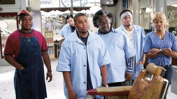 """""""Barbershop 2: Back in Business"""" (2004): Ice Cube and his band of buddies return for this sequel to the hit 2002 film about a South Side Chicago barbershop. (Amazon)"""