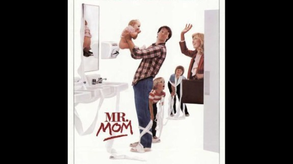 """""""Mr. Mom"""" (1983): A laid-off dad takes on child care duties in this comedy starring Michael Keaton and Teri Garr. (Amazon)"""