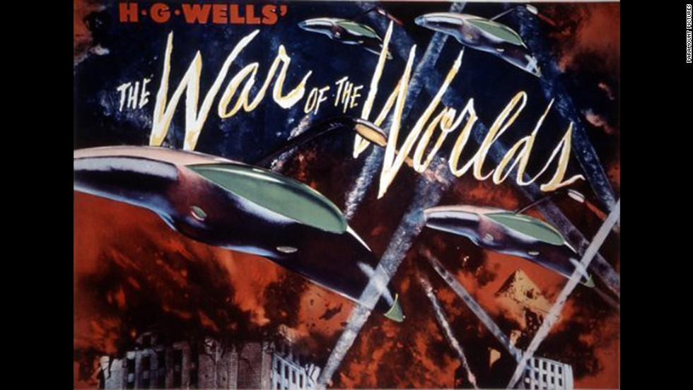 "<strong>""The War of the Worlds"" (1953)</strong>: This classic is an adaption of an H.G.Wells radio story that made the public believe the world was being invaded by Martians. <strong>(Netflix) </strong>"