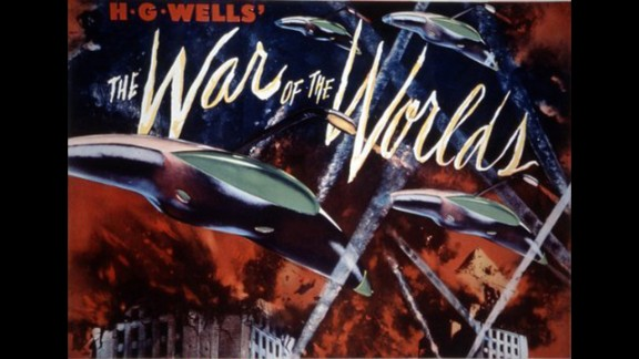 """""""The War of the Worlds"""" (1953): This classic is an adaption of an H.G.Wells radio story that made the public believe the world was being invaded by Martians. (Netflix)"""