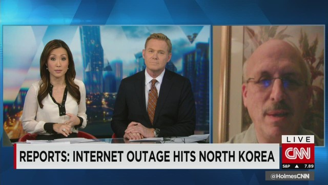 Expert: North Korea likely hit by DDoS