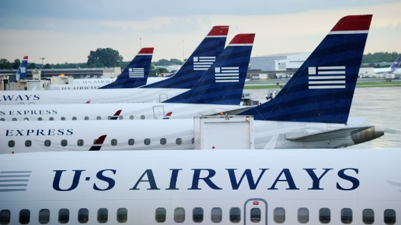 Bomb threats affected several flights on Tuesday, including a a US Airways flight from San Diego to Philadelphia.
