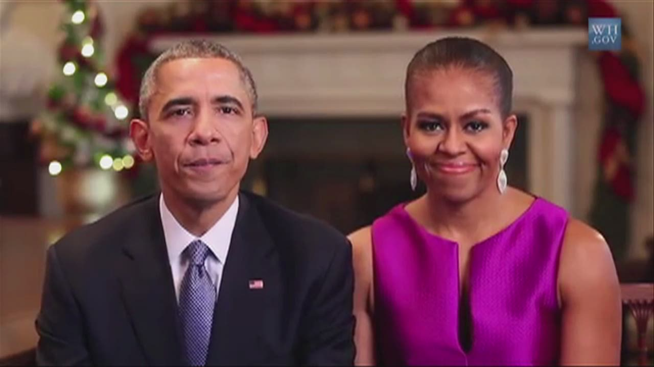 See what the Obamas have to say today - CNN Video