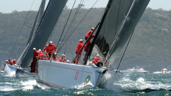 Wild Oats made a fine start, too, to the race in pursuit of Comanche.