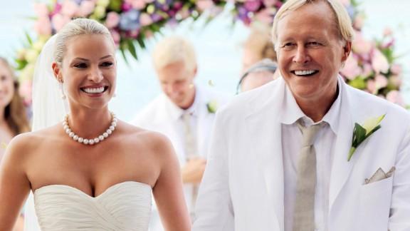 Billionaire Netscape co-founder Jim Clark married Australian super model Hinze in 2009 in a ceremony in the British Virgin Islands.