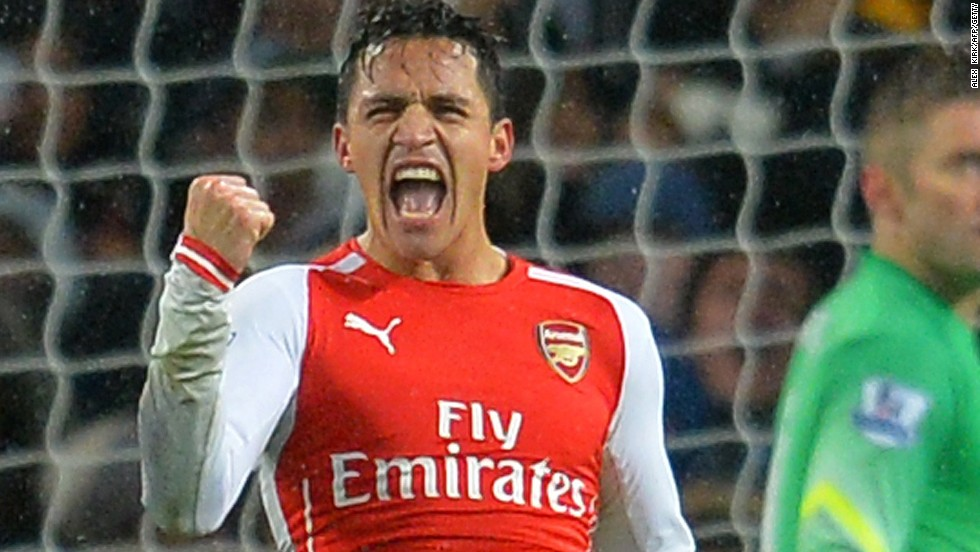 Alexis Sanchez saw an earlier penalty saved but was on target for Arsenal in a 2-1 win over QPR.