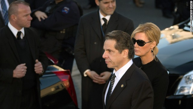 New York Gov. Andrew Cuomo said the justice system needs a review Thursday in his second inaugural speech.