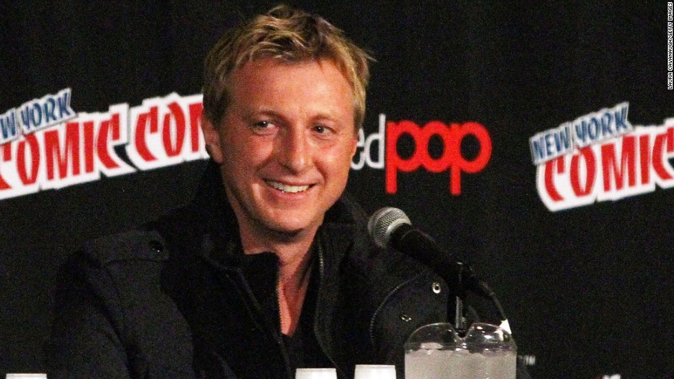 "Hard to believe that William Zabka from ""The Karate Kid"" celebrated his 50th on October 21."