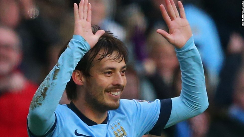 After Chelsea tied Southampton 1-1, almost everyone would have thought Man City would beat Burnley at home later Sunday. The in-form David Silva, sure enough, gave City the lead.