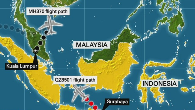 MH370 and AirAsia very different incidents