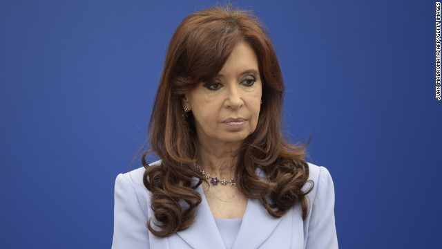 Argentina's President Cristina Fernandez gestures during the 47th Mercosur Summit, in Parana, Entre Rios, Argentina on December 17, 2014. AFP PHOTO / Juan Mabromata (Photo credit should read JUAN MABROMATA/AFP/Getty Images)