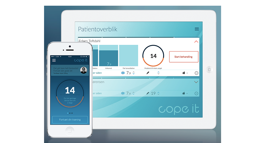 "Suffering from ""dental anxiety""? An upcoming app called Cope It, developed in Denmark, promises to have you sorted."