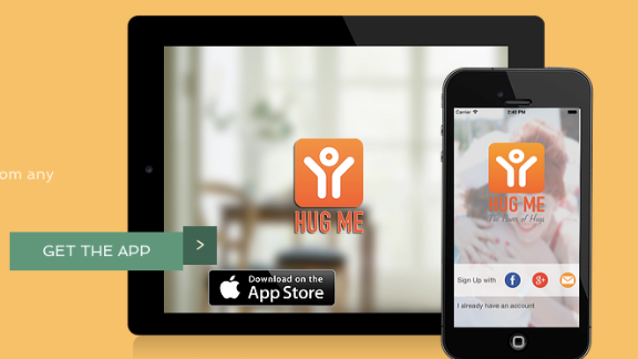 Hug Me is a free app that connects you with nearby strangers to... well, hug them. Unfortunately it doesn't seem to be getting a lot of love from users.