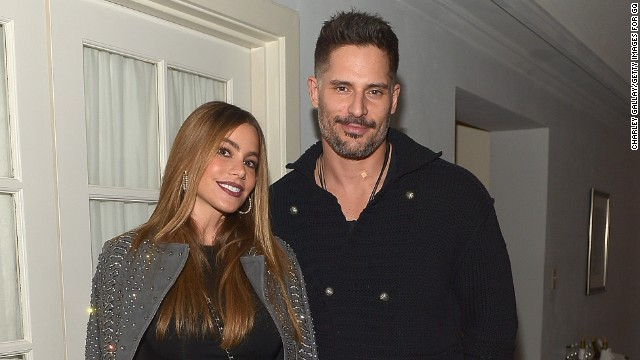 Sofia Vergara and Joe Manganiello attend Gucci And GQ Celebrate Men Of The Year at Chateau Marmont on December 4, 2014 in Los Angeles, California.