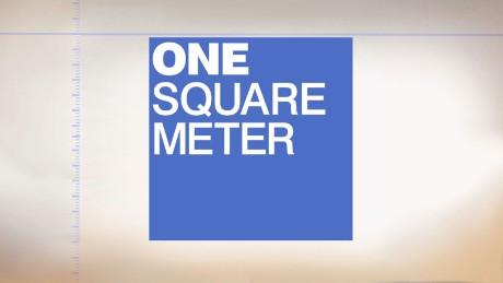 one square meter cnn. Black Bedroom Furniture Sets. Home Design Ideas