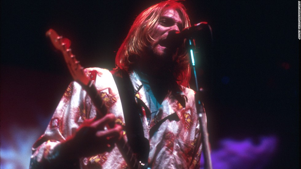 For generation X, Kurt Cobain of Nirvana was a cultural icon.