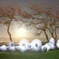 Light-Painting-Sola-Country-Side-Light-Art-Poole-Harbour