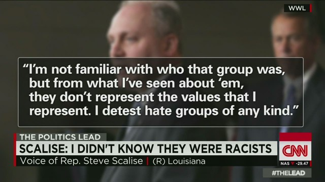 House speaker, Louisiana Democrat back Scalise