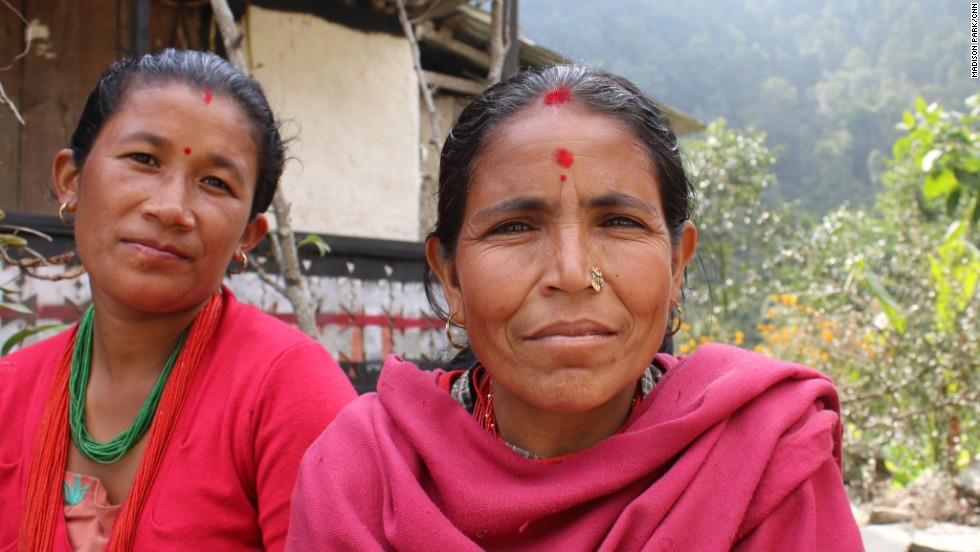 Farmers in Nepal's district of Dolakha live in one of the most vulnerable districts to landslides. Landslides could arise from melting snowpacks and loosened soil.