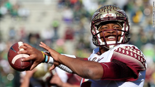 Jameis Winston won the Heisman Trophy in 2013 in his first season as a collegiate player.