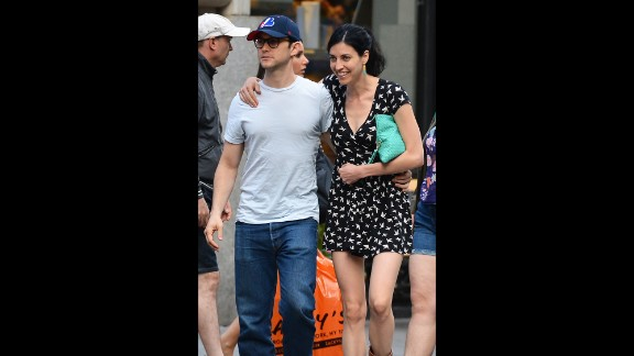 """Joseph Gordon-Levitt and girlfriend Tasha McCauley, here in NYC in August, married in a quiet ceremony at their home on Saturday, December 20. The """"Don Jon"""" star, 33, is known for keeping his private life quiet. Tasha is the CEO of Fellow Robots, a NASA-based robotics company."""