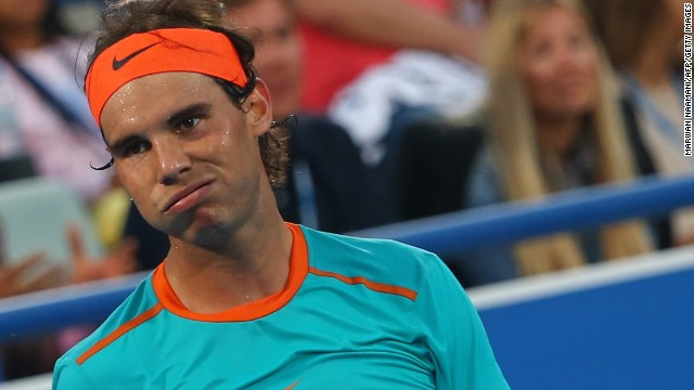 It was a tough day at the office for Rafael Nadal, as he was crushed in his latest comeback by Andy Murray.