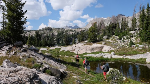 Spanning 3,100 miles from Mexico to Canada along the Rocky Mountain spine of North America, the Continental Divide Trail takes hikers across arduous but spectacular terrain.