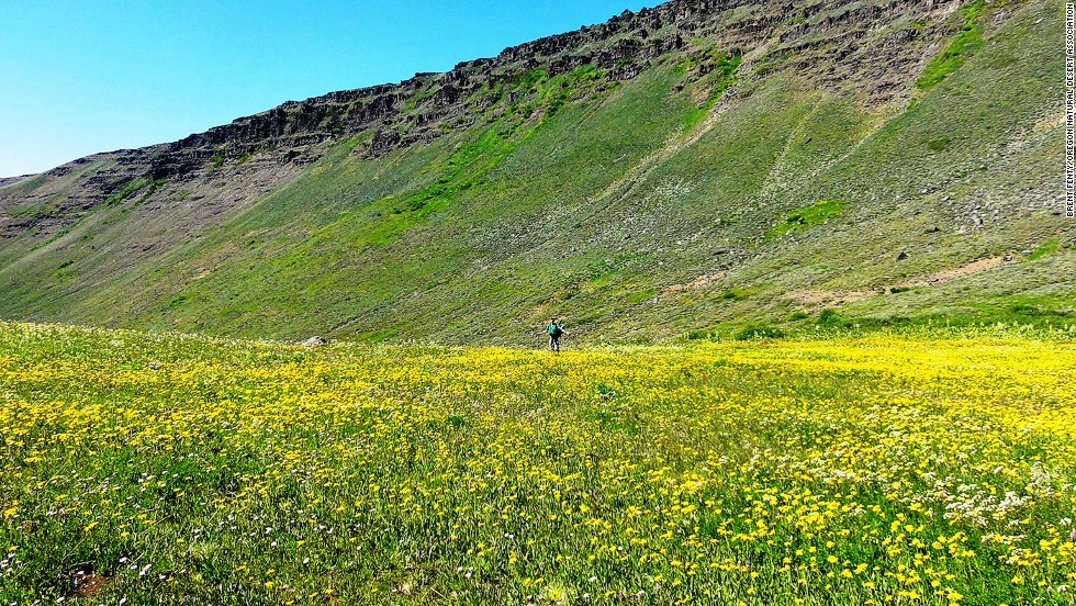 The isolation and scarcity of water over long sections of the Oregon Desert Trail pose a serious challenge for hikers.