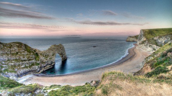 Featuring 240-million-year-old rocks, the South West Coast Path