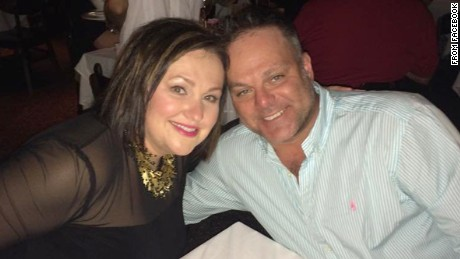 "Photo of plane crash victims Marty and Kimberly Gutzler from Marty Gutzler's Facebook page. The caption is ""Lister for New Year's Eve!"" and the photo was taken at The Reach restaurant at the Waldorf-Astoria resort in Key West, FL."