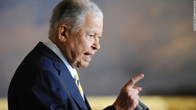 2009: Edward Brooke receives Congressional Gold Medal