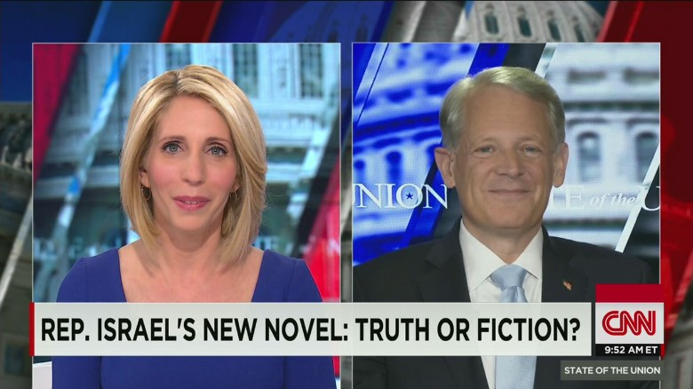 Rep. Israel's new novel: truth or fiction?