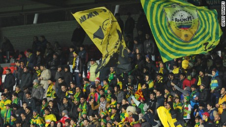 Anzhi Makhachkala are based in the troubled Dagestan region of Russia.