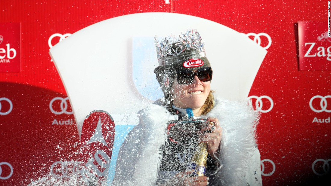 Shiffrin is currently second in the slalom standings after five races and second in the overall World Cup standings after 15 races.