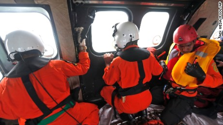 The search for AirAsia Flight QZ8501