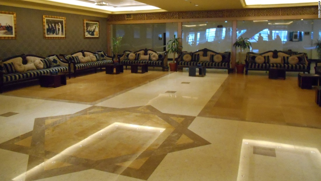 If VVIPs fancy a break from the action at the stadium, then there is also the VVIP guest lounge for dignitaries. Such rooms are typically found in most Gulf airports in the diplomatic entrance.