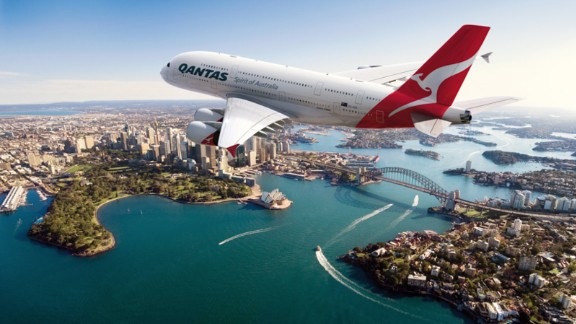 """<strong>5. Qantas: </strong>Not only is Qantas one of the world's <a href=""""https://www.cnn.com/travel/article/worlds-safest-airlines-2018/index.html"""" target=""""_blank"""">safest airlines</a>, an impressive 86.18% of the Australian carrier's flights arrive or depart on time."""