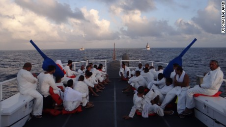 Rumors of a change in U.S.-Cuba policy have sparked a surge in Cuban migrants, the U.S. Coast Guard says.