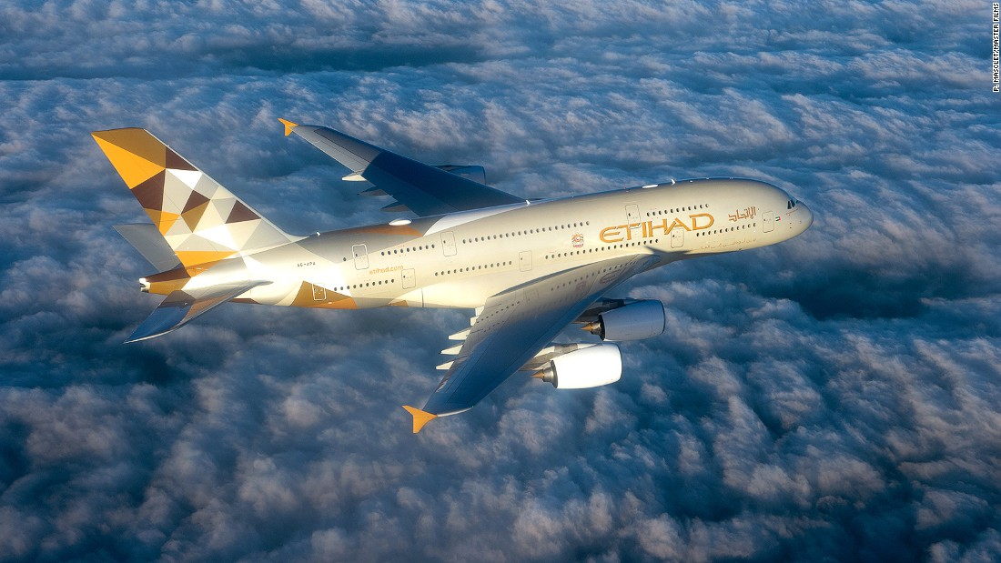 Etihad Airways, which will take delivery of four A380s and three Boeing 787-9s in 2015, also makes the top 10 list.