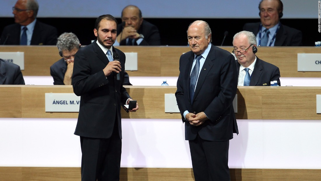 "Blatter, who was elected unopposed in 2011, also faces competition from Prince Ali of Jordan and independent candidate Jerome Champagne though he enjoys huge popularity among the majority of FIFA's 209 members. UEFA president Michel Platini has called on Blatter to stand down but the president maintains his ""mission is not finished."""