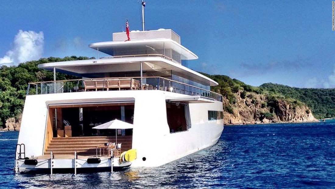 Steve Jobs Secret Yacht The Rare New Images Cnn Video