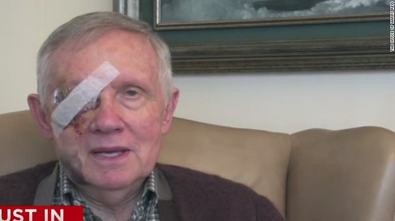 Sen. Harry Reid tweets video explanation behind injury