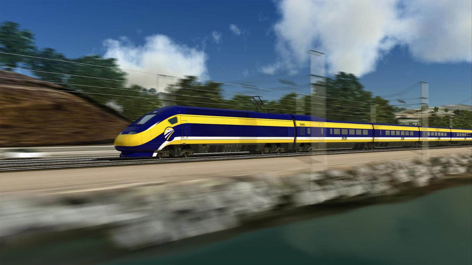 California's high-speed rail: LA to SF in 3 hours