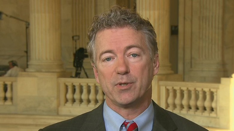 Sen. Rand Paul: 'I'm for using the power of the purse'