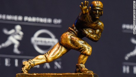 The four 2020 Heisman Trophy finalists hail from Alabama, Clemson and Florida