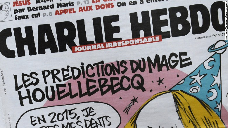 Magazine Charlie Hebdo accustomed to controversy