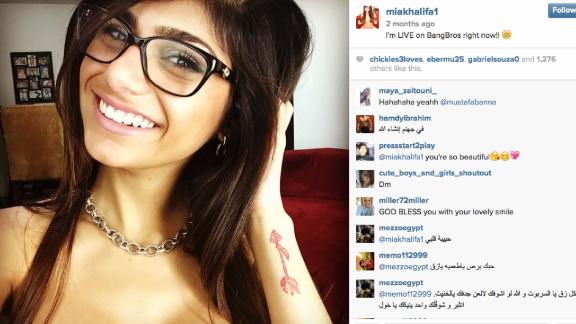 Mia Khalifa, Lebanese porn star, gets death threats | CNN